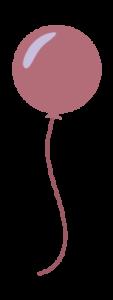 Lila Luftballon