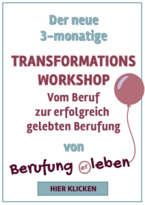 Transformationsworkshop Celebrate your Passion Banner