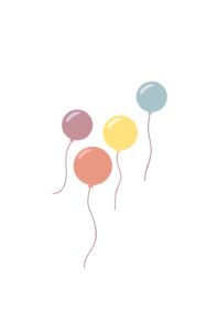 Luftballons Celebrate your Passion